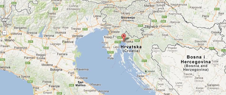 investment-in-rijeka-croatia-map_of_Rijeka_croatia-by-worldmap1-com